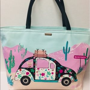 Kate Spade Out of the Office Chihuahua Tote